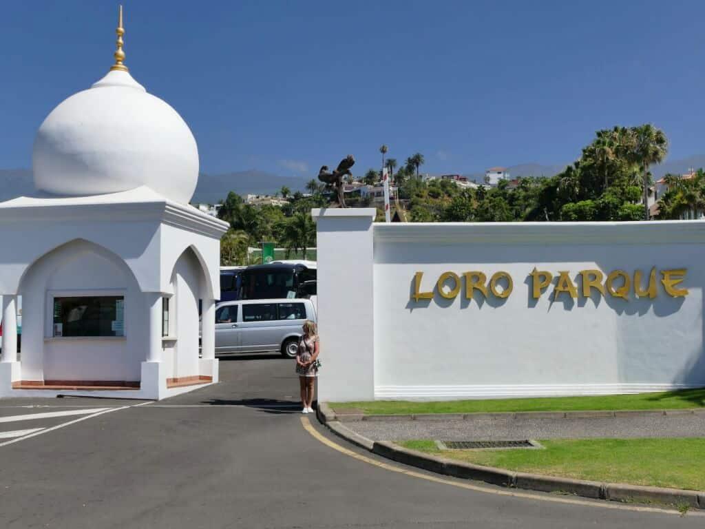 Loro Park Eingang