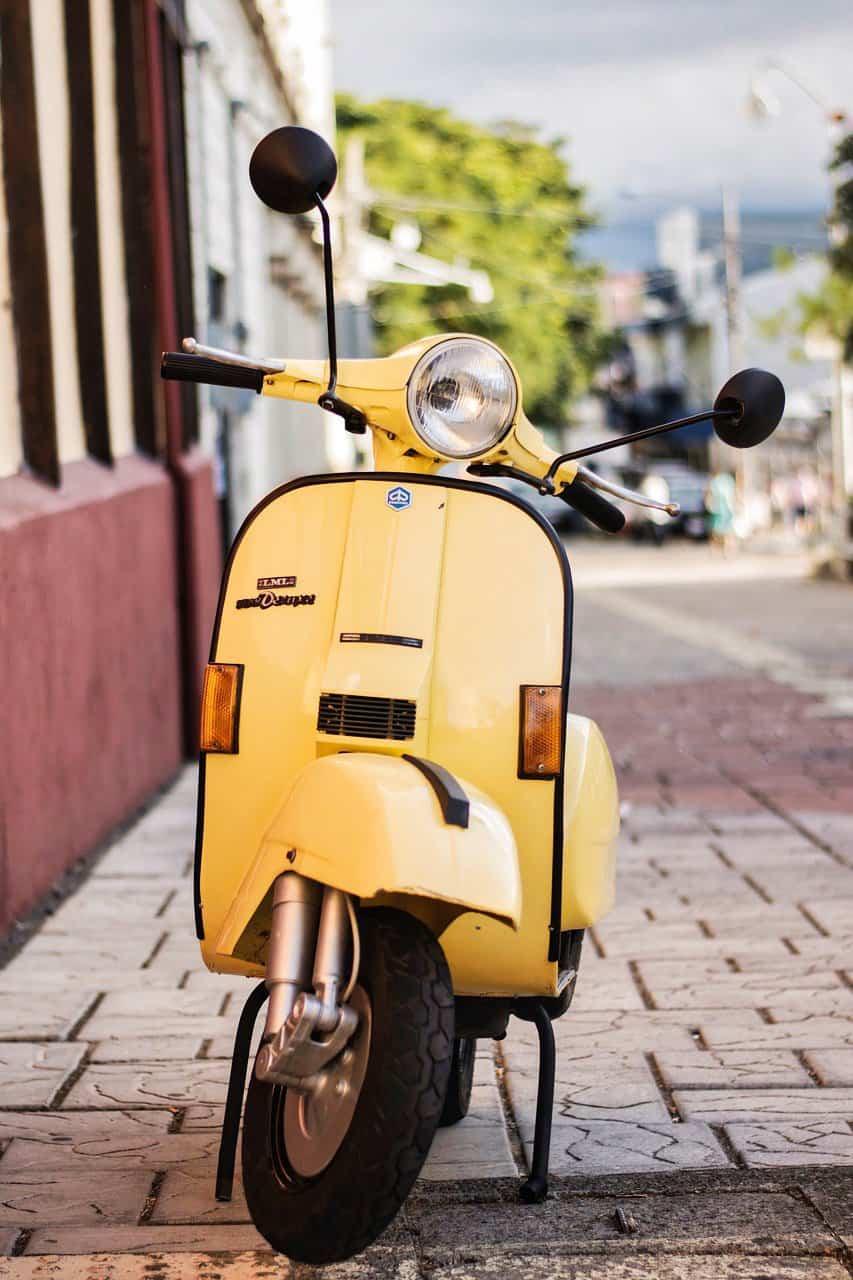 Motorroller Teneriffa