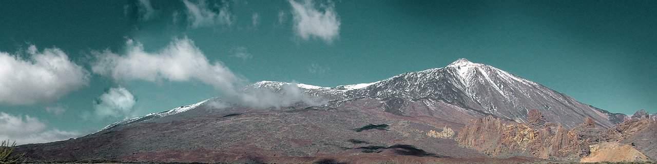 Panorama Teide Teneriffa