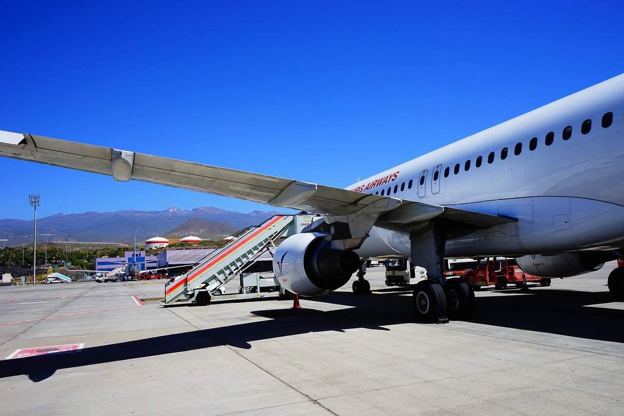 Flughafen Teneriffa / British Airways